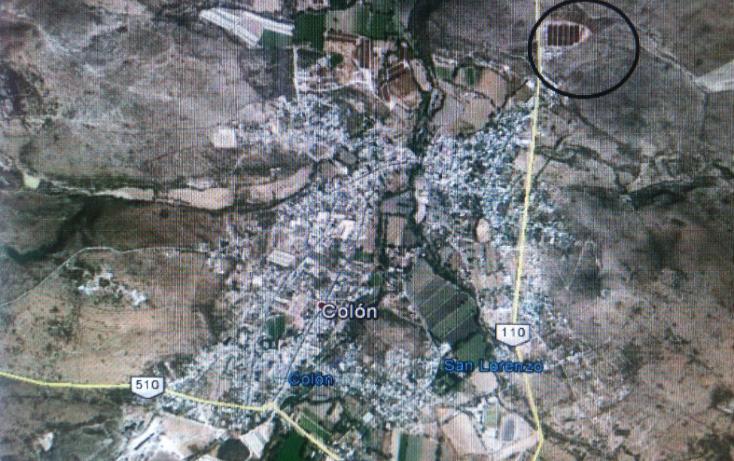 Foto de terreno comercial en venta en  , las fronteras, colón, querétaro, 1416649 No. 01