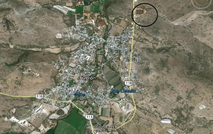 Foto de terreno comercial en venta en  , las fronteras, colón, querétaro, 1557692 No. 01