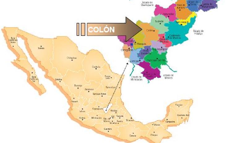 Foto de terreno comercial en venta en  , las fronteras, colón, querétaro, 1557692 No. 04