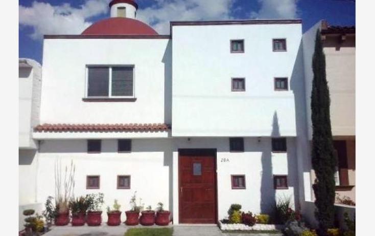 Foto de casa en venta en  , las fuentes, corregidora, querétaro, 1671508 No. 01