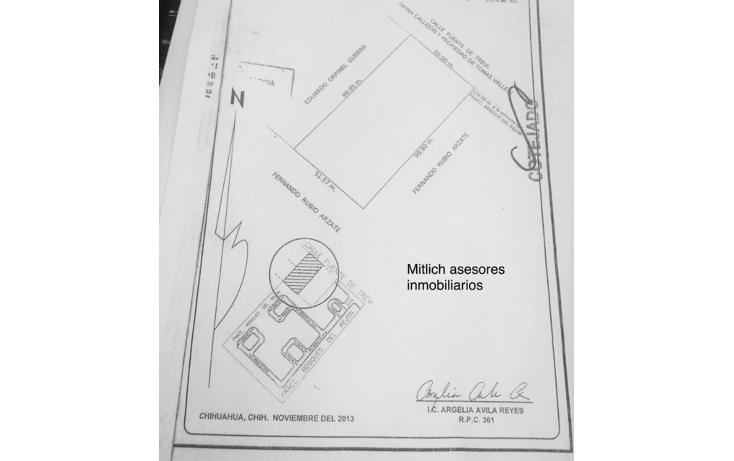 Foto de terreno comercial en venta en  , las fuentes i, chihuahua, chihuahua, 1776740 No. 01