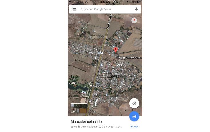 Foto de terreno habitacional en venta en  , las golondrinas, zapopan, jalisco, 1496213 No. 03