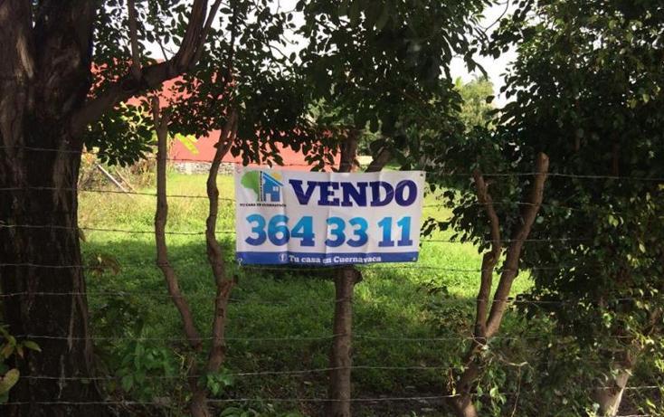 Foto de terreno habitacional en venta en  , las granjas, cuernavaca, morelos, 1535374 No. 04