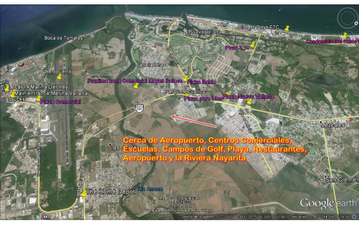 Foto de terreno comercial en venta en  , las jarretaderas, bahía de banderas, nayarit, 1557476 No. 05