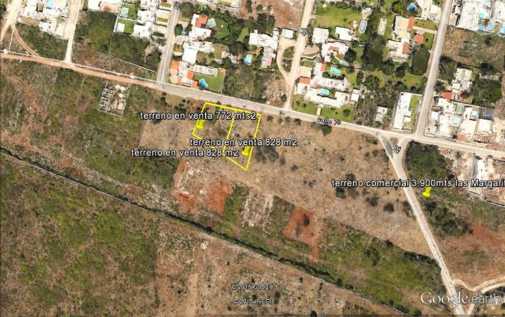 Foto de terreno habitacional en venta en  , las margaritas de cholul, mérida, yucatán, 1081059 No. 01