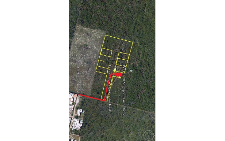Foto de terreno habitacional en venta en  , las margaritas de cholul, mérida, yucatán, 1195033 No. 02