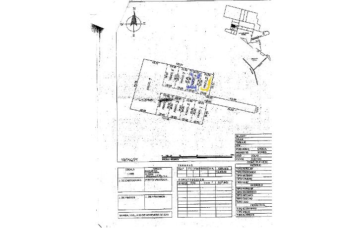 Foto de terreno habitacional en venta en  , las margaritas de cholul, mérida, yucatán, 1195033 No. 03