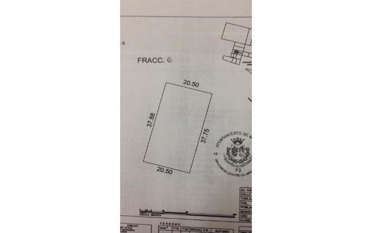 Foto de terreno habitacional en venta en  , las margaritas de cholul, mérida, yucatán, 1195033 No. 06