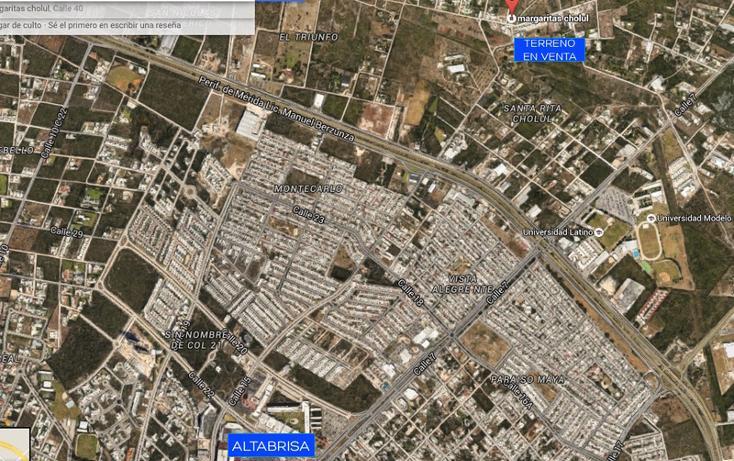 Foto de terreno habitacional en venta en  , las margaritas de cholul, mérida, yucatán, 1196303 No. 01
