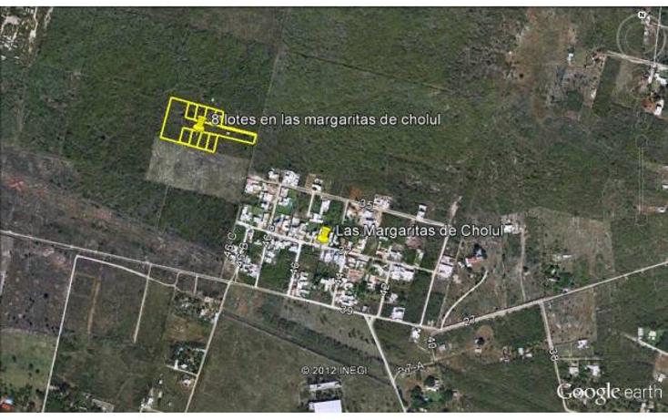Foto de terreno habitacional en venta en  , las margaritas de cholul, mérida, yucatán, 1199145 No. 01