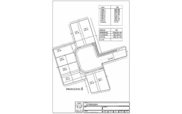 Foto de terreno habitacional en venta en  , las margaritas de cholul, mérida, yucatán, 1250601 No. 05
