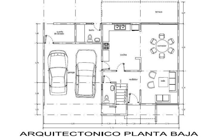 Foto de casa en venta en, las margaritas de cholul, mérida, yucatán, 1291281 no 02