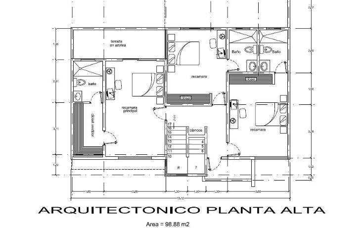 Foto de casa en venta en  , las margaritas de cholul, mérida, yucatán, 1550286 No. 04