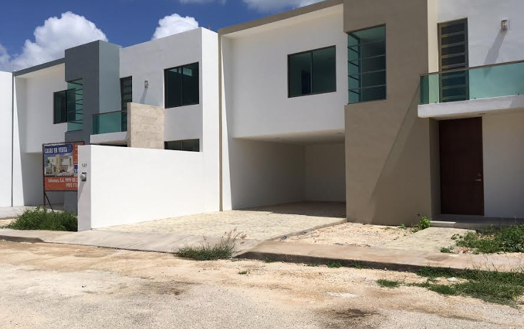 Foto de casa en venta en  , las margaritas de cholul, mérida, yucatán, 1659596 No. 01