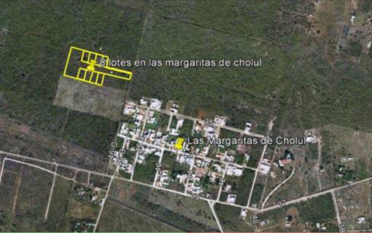 Foto de terreno habitacional en venta en, las margaritas de cholul, mérida, yucatán, 1737918 no 01