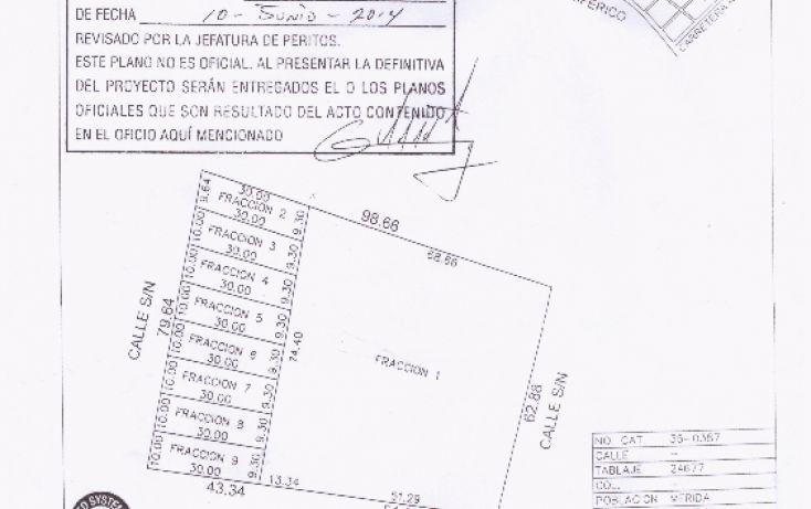 Foto de terreno habitacional en venta en, las margaritas de cholul, mérida, yucatán, 2003136 no 01