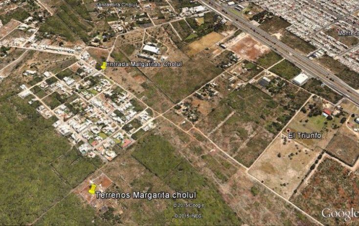 Foto de terreno habitacional en venta en, las margaritas de cholul, mérida, yucatán, 2014604 no 01
