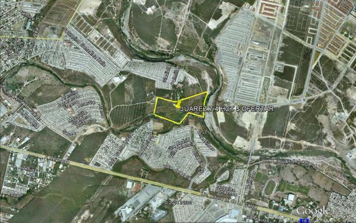 Foto de terreno habitacional en venta en  , las margaritas, juárez, nuevo león, 559695 No. 01