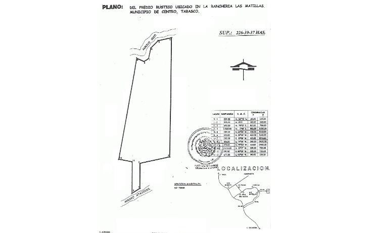 Foto de terreno comercial en venta en  , las matillas, centro, tabasco, 1108591 No. 01