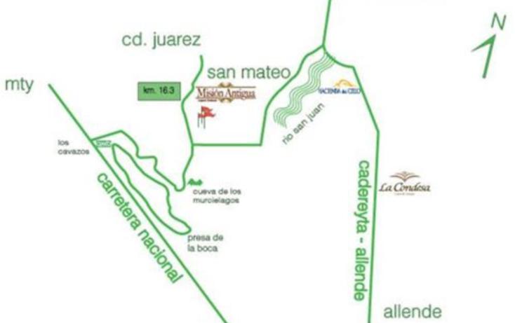Foto de terreno habitacional en venta en, las misiones, santiago, nuevo león, 1778408 no 02