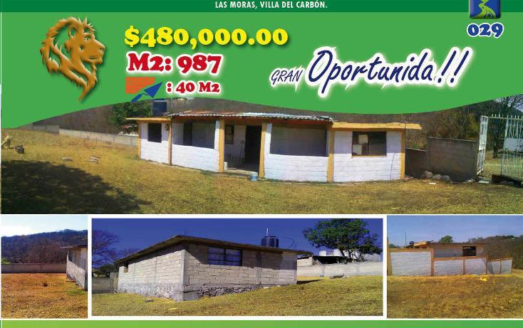 Foto de casa en venta en  , las moras, villa del carbón, méxico, 2007174 No. 01