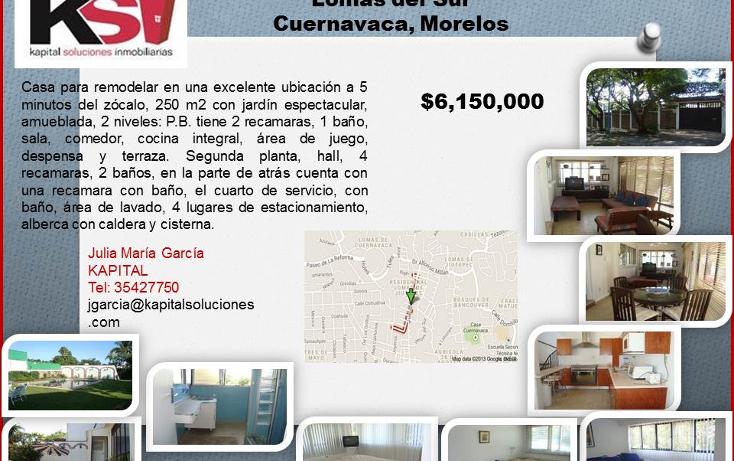 Foto de casa en venta en  , las palmas, cuernavaca, morelos, 1122793 No. 06