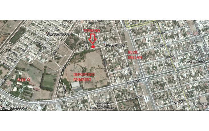 Foto de terreno habitacional en venta en  , las palmas, guasave, sinaloa, 1042971 No. 03