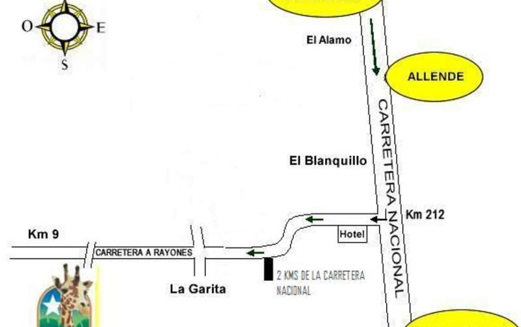 Foto de terreno habitacional en venta en  , las palmas, montemorelos, nuevo león, 1555518 No. 05