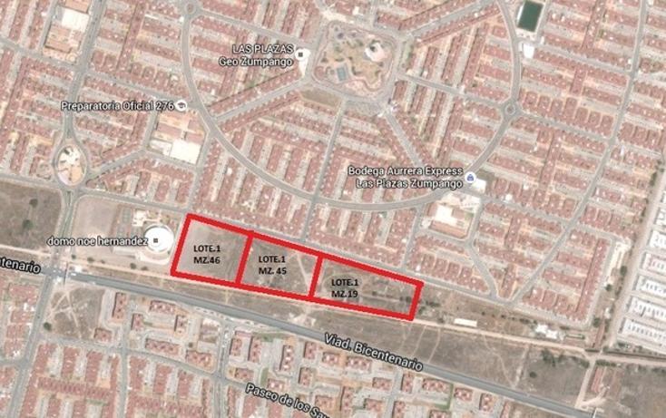 Foto de terreno habitacional en venta en viad. bicentenario , las plazas, zumpango, méxico, 1349415 No. 02