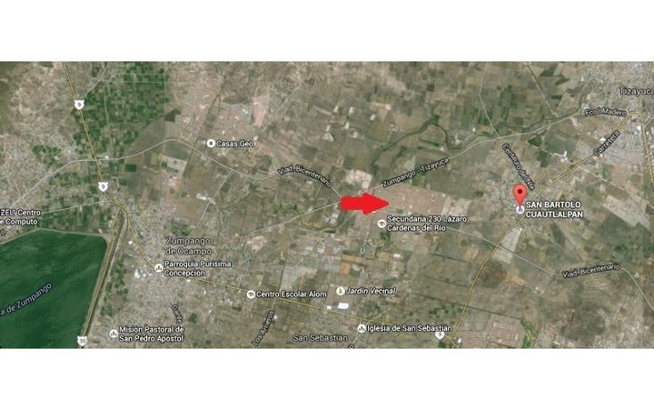 Foto de terreno habitacional en venta en  , las plazas, zumpango, méxico, 1349419 No. 04