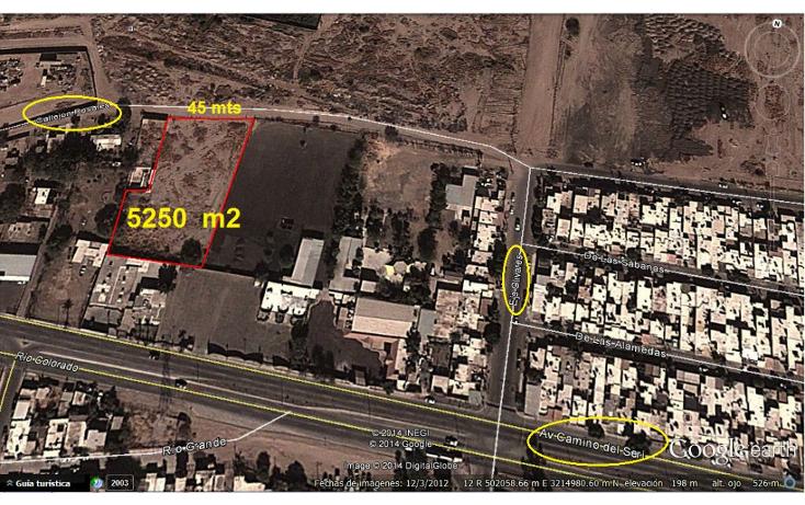 Foto de terreno comercial en venta en  , las praderas, hermosillo, sonora, 1631204 No. 01