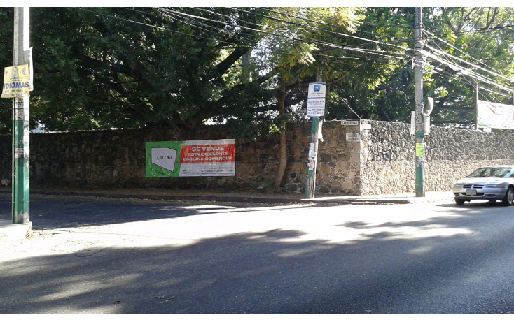 Foto de terreno comercial en venta en  , las quintas, cuernavaca, morelos, 1300147 No. 01