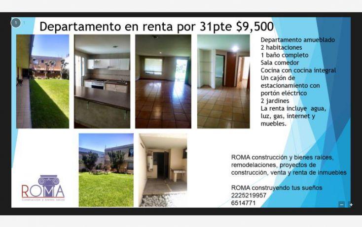 Foto de departamento en renta en, las sonatas, puebla, puebla, 1493295 no 01