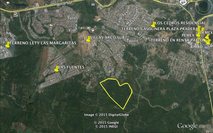 Foto de terreno habitacional en venta en, las torres, xalapa, veracruz, 1207089 no 02