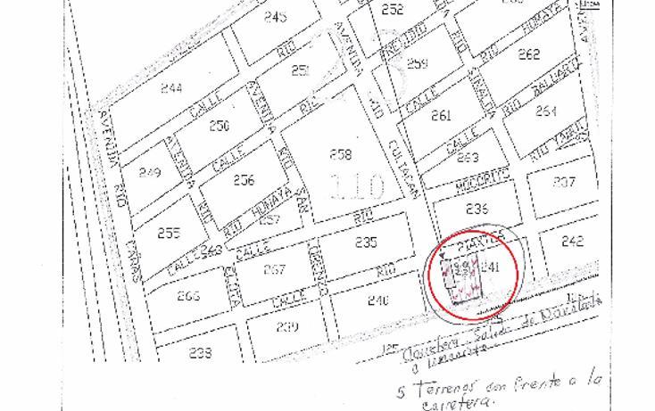 Foto de terreno habitacional en venta en  , las vegas, navolato, sinaloa, 2632454 No. 01