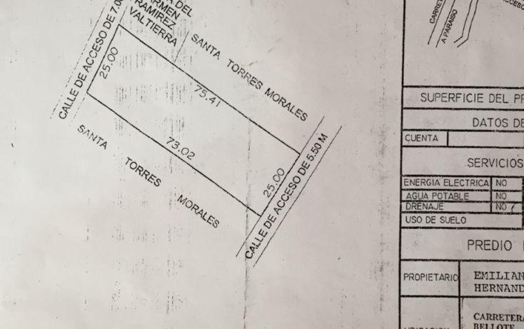 Foto de terreno habitacional en venta en, lázaro cárdenas, paraíso, tabasco, 1374459 no 06