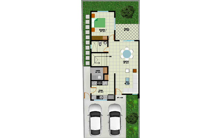 Foto de casa en venta en  , leandro valle, mérida, yucatán, 1040509 No. 09