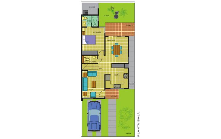 Foto de casa en venta en  , leandro valle, mérida, yucatán, 1142071 No. 02