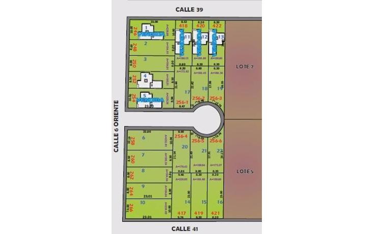 Foto de terreno habitacional en venta en  , leandro valle, mérida, yucatán, 1264725 No. 02