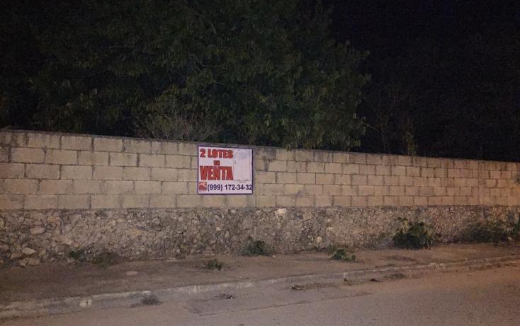 Foto de terreno habitacional en venta en  , leandro valle, mérida, yucatán, 1850504 No. 02