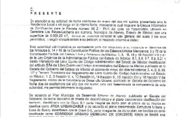 Foto de terreno habitacional en venta en lecheriatexcoco, tequisistlan, tezoyuca, estado de méxico, 1544928 no 08