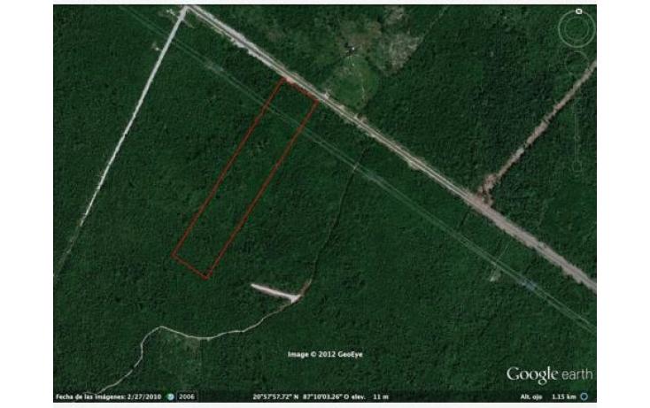 Foto de terreno habitacional en venta en, leona vicario, benito juárez, quintana roo, 503794 no 02