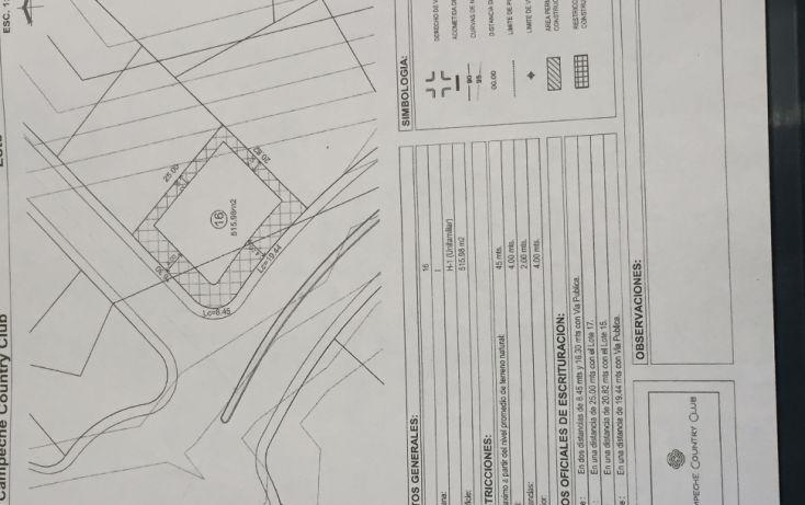 Foto de terreno habitacional en venta en, lerma, campeche, campeche, 1692458 no 02