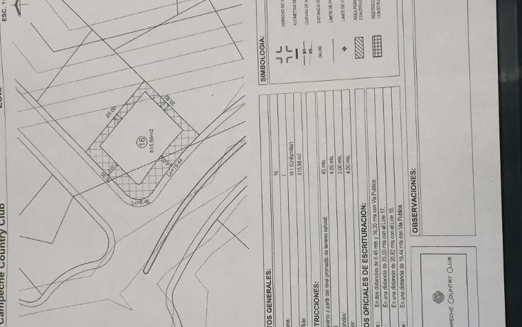 Foto de terreno habitacional en venta en  , lerma, campeche, campeche, 1692458 No. 02