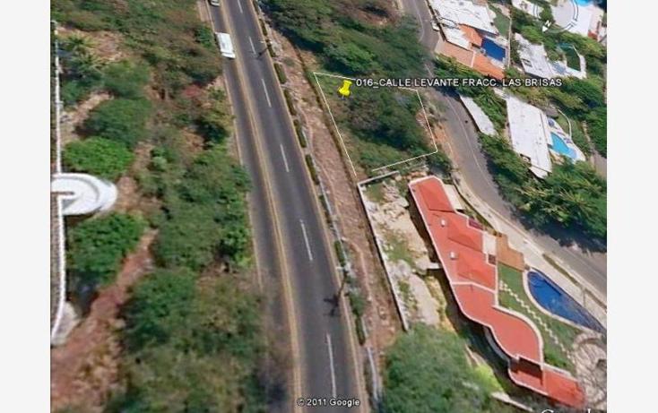 Foto de terreno habitacional en venta en levante 5, las brisas 1, acapulco de ju?rez, guerrero, 1804396 No. 01