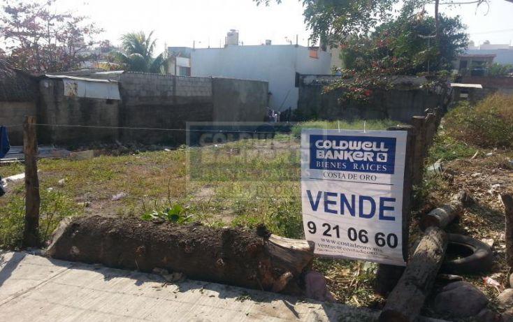 Foto de terreno habitacional en venta en libertad, el morro las colonias, boca del río, veracruz, 457378 no 01