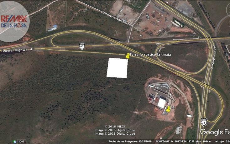 Foto de terreno habitacional en venta en libramiento a carretera parral , josé maría morelos y pavón (la tinaja), durango, durango, 2717713 No. 01