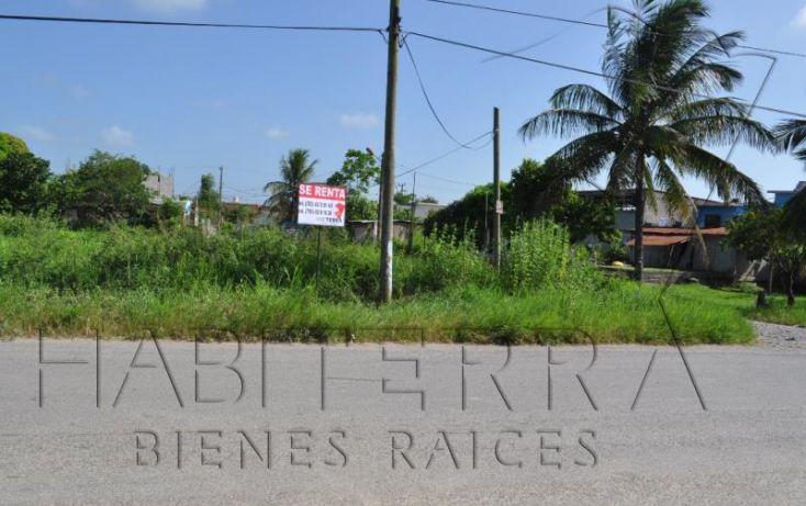 Foto de terreno comercial en renta en libramiento adolfo lópez mateos, los mangos, tuxpan, veracruz, 1612882 no 02