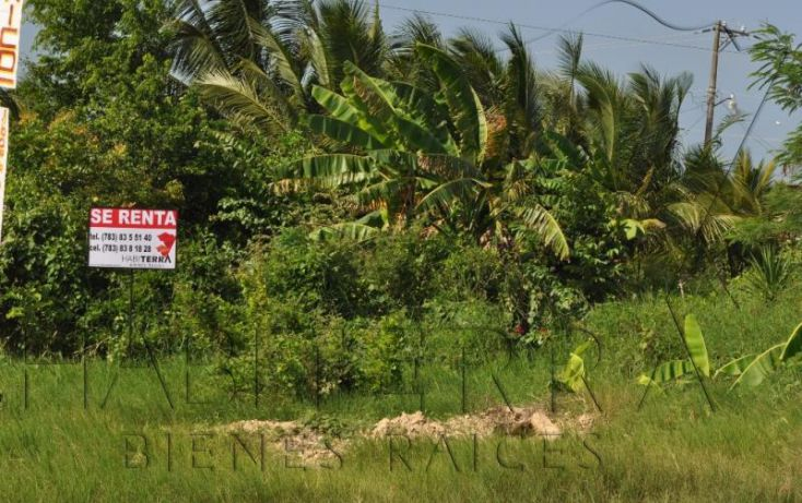 Foto de terreno comercial en renta en libramiento adolfo lópez mateos, los mangos, tuxpan, veracruz, 1622640 no 03