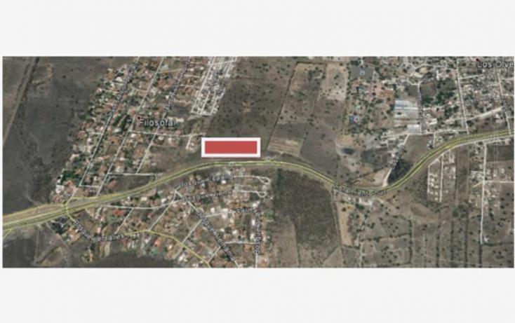 Foto de terreno habitacional en venta en libramiento sur poniente 1, los olvera, corregidora, querétaro, 904595 no 03